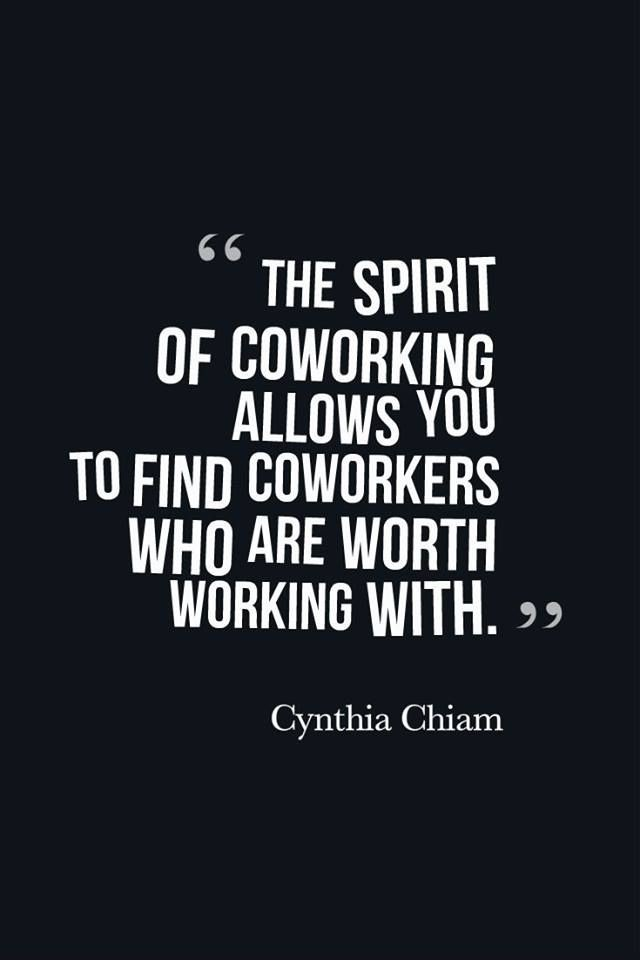 The Spirit of Coworking